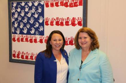 Visiting Representative Martha Roby in Washington