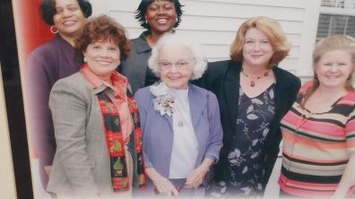 Patsy Riley, Margaret Carpenter, Joanne Shum, Sue Bell Cobb, Elainer Jones, and Laura Collins